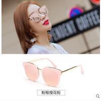 新款个性太阳眼镜潮韩国太阳镜女 长脸方形偏光墨镜大框圆脸