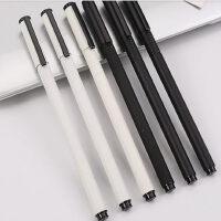 晨光文具A1601狂潮中性笔金属笔杆黑色子弹头0.5mm水笔会议笔商务笔企业水笔重手感学生笔商务金属笔杆签字笔