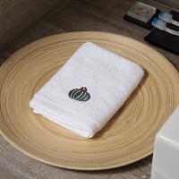 0726123318833纯棉吸水小方巾小毛巾儿童家用擦手洗脸情侣创意面巾 2条装 35x35cm