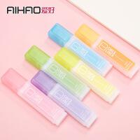 爱好学生荧光笔斜头标记笔6色 韩国创意彩色重点划线记号笔6261