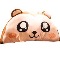 大号可爱卡通床头靠枕大靠背龙猫公主床靠垫双人枕抱枕玩偶可拆洗