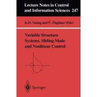 【预订】Variable Structure Systems, Sliding Mode and Nonlinear
