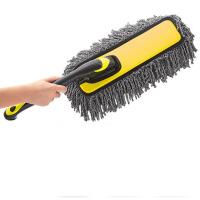 刷车软毛工具清洁扫灰掸子刷子 汽车用品擦车拖把洗车蜡拖