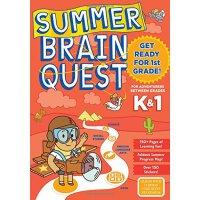 Summer Brain Quest: Between Grades K & 1 英文原版 Brain Quest暑假