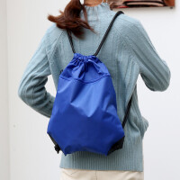 防水束口袋抽绳双肩包男女户外旅行包运动背包收纳袋