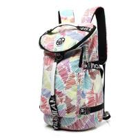 旅行背包大容量女双肩包运动健身包帆布书包轻便登山包旅游行李袋