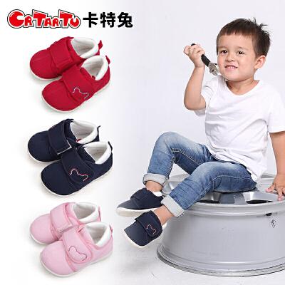 卡特兔2018新品男女宝宝学步鞋公主鞋秋季儿童机能鞋运动鞋单鞋