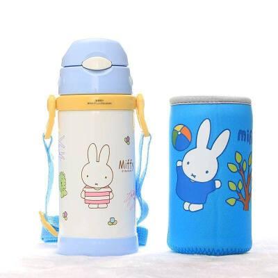 儿童水杯带吸管保温杯幼儿园小孩喝水杯子宝宝水壶防摔a232