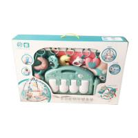 多功能遥控钢琴健身架宝宝脚踏钢琴健身器新生婴儿早教游戏毯抖音