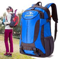 旅行户外登山包大容量双肩包男女时尚潮流书包旅游背包潮