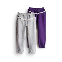 女童长裤 女孩宝宝运动裤子加绒加厚 春秋装儿童装
