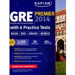 KAPLAN GRE PREMIER 2014 WITH 6 PRACTICE TESTS 英文原版