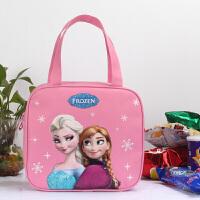 可爱卡通饭盒袋保温装便当包防水小学生手提袋儿童带饭包男童女童