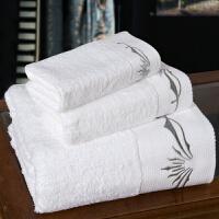 浴巾毛巾三件套礼盒装纯棉加厚浴巾套装生日礼品商务酒店婚庆