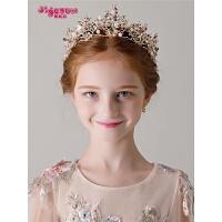 公主王冠表演演出女孩饰品发箍儿童头饰皇冠女童发饰
