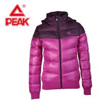 Peak/匹克 冬季女款 舒适保暖时尚百搭可拆卸连帽运动棉衣F534158