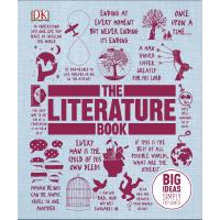 The Literature Book 英文原版 DK文学百科 全彩铜版纸