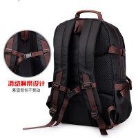 双肩包男士背包时尚潮流休闲包电脑包大旅行包中学生书包女