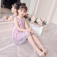 连衣裙夏装新款洋气儿童裙子韩版中大童装纱裙公主裙潮