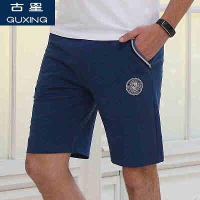 古星夏季新品男士运动短裤拉链口袋休闲五分裤健身跑步篮球潮中裤隐形拉链口袋  定制面料