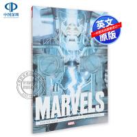 漫威海报合集 Marvels Poster Book 英文原版 蜘蛛侠 X战警 漫威漫画原版 大开本 重温奇迹时代的黎明