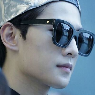 杨洋同款太阳镜时尚炫彩方框墨镜5111 男女眼镜韩版复古太阳眼镜