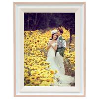 婚纱照相框创意挂墙16寸24寸30寸全家福结婚照放大加简约画框装裱
