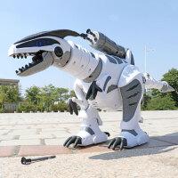 仿真动物儿童玩具机器人3-6周岁男孩遥控恐龙玩具电动霸王龙