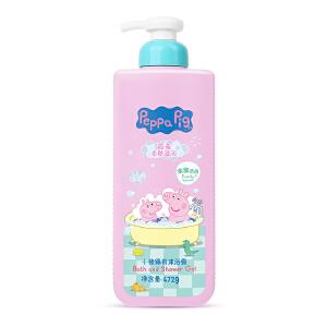 Peppa Pig 小猪佩奇儿童沐浴露天然燕麦芦荟洗护家庭装472毫升(燕麦)