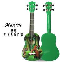 ?ukulele尤克里里21寸儿童初学者卡通小吉他夏威夷乌克丽丽四弦琴