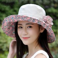 碎花大花帽子女秋冬女士新款时装帽优雅女士帽可爱防风