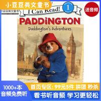 #正版英文童书 Paddington: Paddington's Adventure帕丁顿熊奇遇【4-8岁