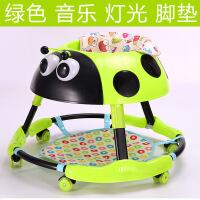 ?学步车婴儿幼儿儿童防侧翻6-18个月多功能可折叠带音乐灯光手推车 +脚垫