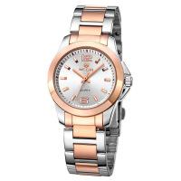 2018新款 MEGIR手表情侣石英表钢带防水时尚休闲手表5006L