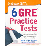 MCGRAW-HILL'S 6 GRE PRACTICE TESTS(ISBN=9780071743129) 英文原版