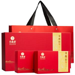 艺福堂 茶叶 茗茶  武夷山原产 西湖春迹特级金骏眉红茶礼盒300g