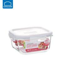 乐扣乐扣保鲜盒耐热玻璃饭盒微波炉烤箱可用密封碗便当碗冰箱储物 正【750ml】