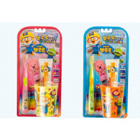 啵乐乐韩国进口儿童牙具套装1P牙刷
