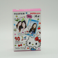 富士拍立得 mini8/9/7s/25/70/90 相机通用相纸kitty水彩相纸10张