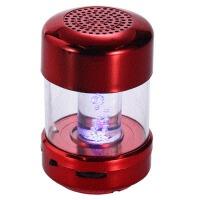 无线蓝牙插卡音箱车载低音小钢炮手机迷你便携式电脑音响 红色