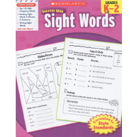 【满99减30】【K-2 常见字】学乐成功系列 Scholastic Success with Sight Words