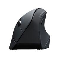 日本SANWA蓝牙鼠标usb电脑鼠办公游戏人体工学直立握式 创意新奇特