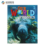 Our World Phonics Level 2 学生用书 原版进口美国国家地理英语语音教材