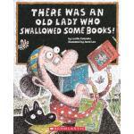 【预订】There Was an Old Lady Who Swallowed Some Books! 9780606