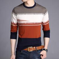 男士毛衣春季2018新款潮流韩版羊毛衫针织衫打底低领土薄款秋冬季