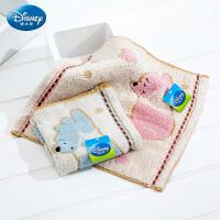 Disney/迪士尼 维尼小熊方巾 家用洗脸柔软童巾小毛巾 全棉 卡通
