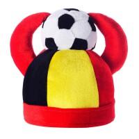 俄罗斯巴西德国世界杯足球球迷派对酒吧ktv狂欢牛角足球帽子