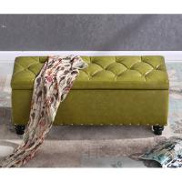 收纳凳子储物凳可坐门口换鞋凳多功能客厅皮墩子服装店沙发凳
