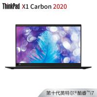 联想ThinkPad X1 Carbon 2020(01CD)14英寸轻薄笔记本电脑(i7-10510U 16G 512