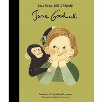英文原版绘本 Little People Big Dreams 小人物大梦想系列 珍妮 古道尔Jane Goodall